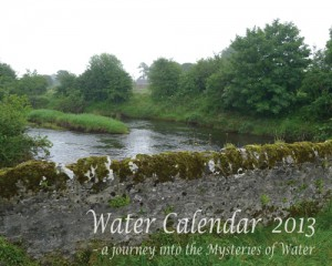 Water Calendar 2013 cover page