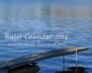 Water Calendar 2014 cover page